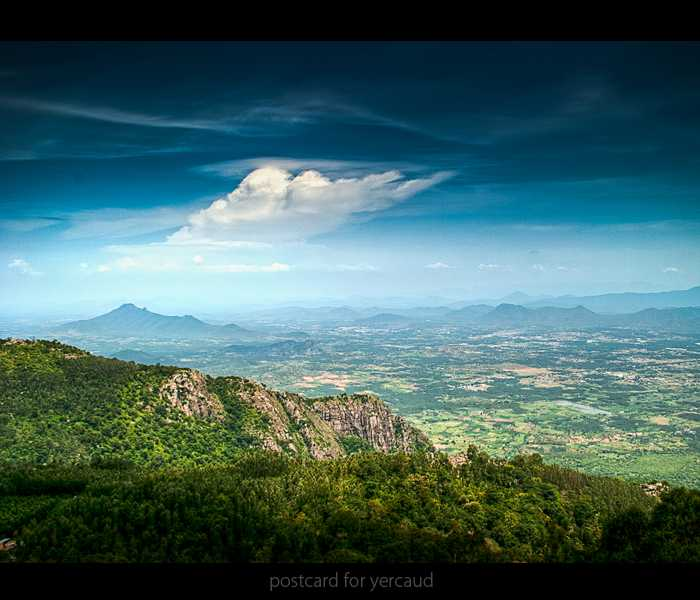 Gawk at the magnificent peaks at Yercaud, Tamil Nadu