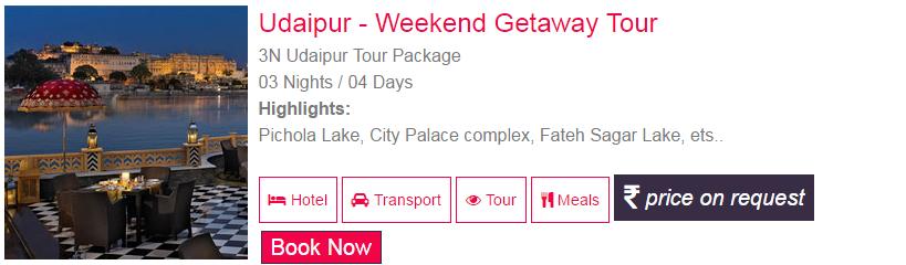 Udaipur Honeymoon Tour