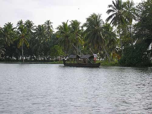 Thiruvallom Backwaters kerala