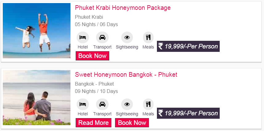 Thailand Packages