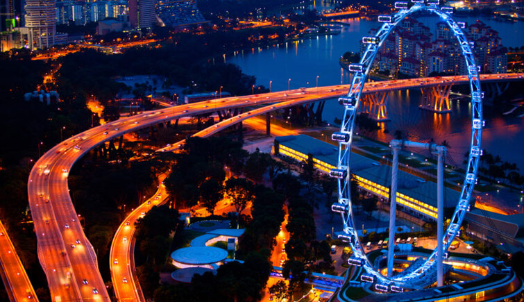 Singapore Flyer Dining