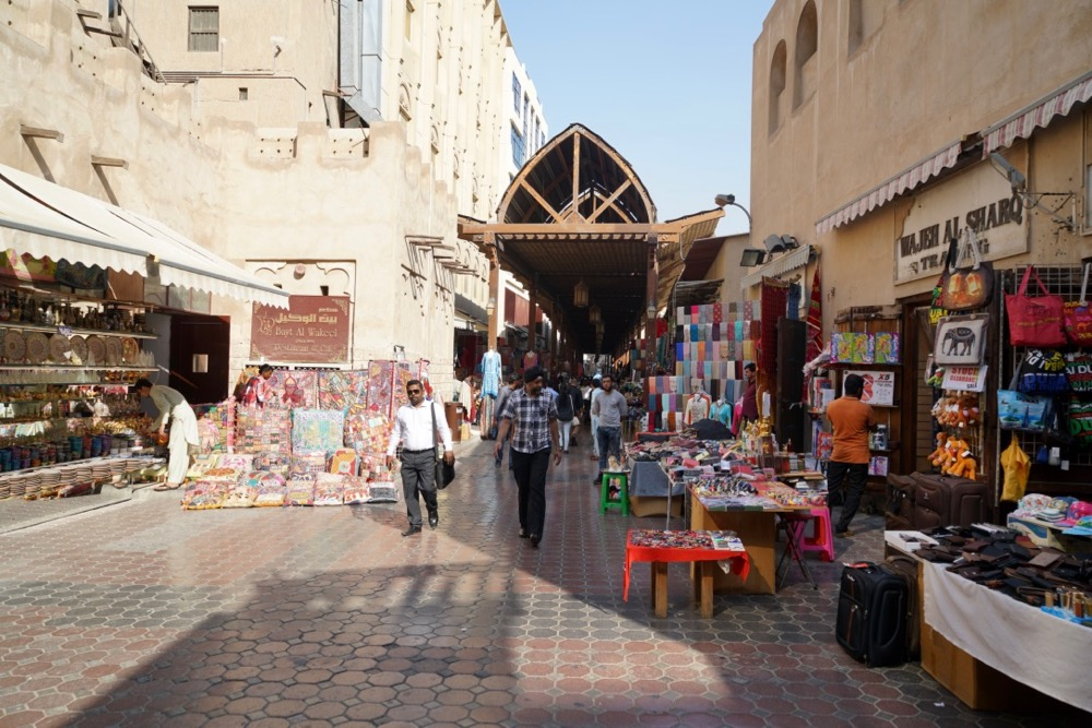 Spend Time at Old Marketplaces in dubai