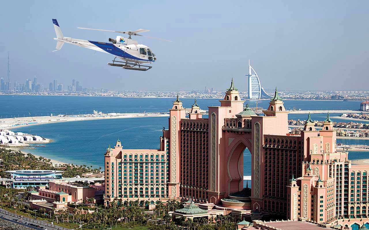 chopper ride dubai