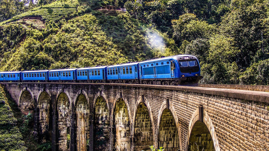 Enjoy a Scenic Train Ride in Sri Lanka