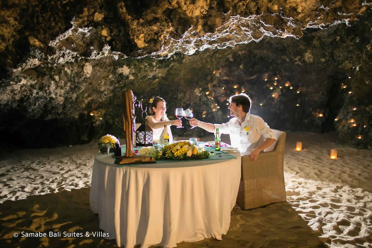 Cave Dinner At Samabe Resorts - best