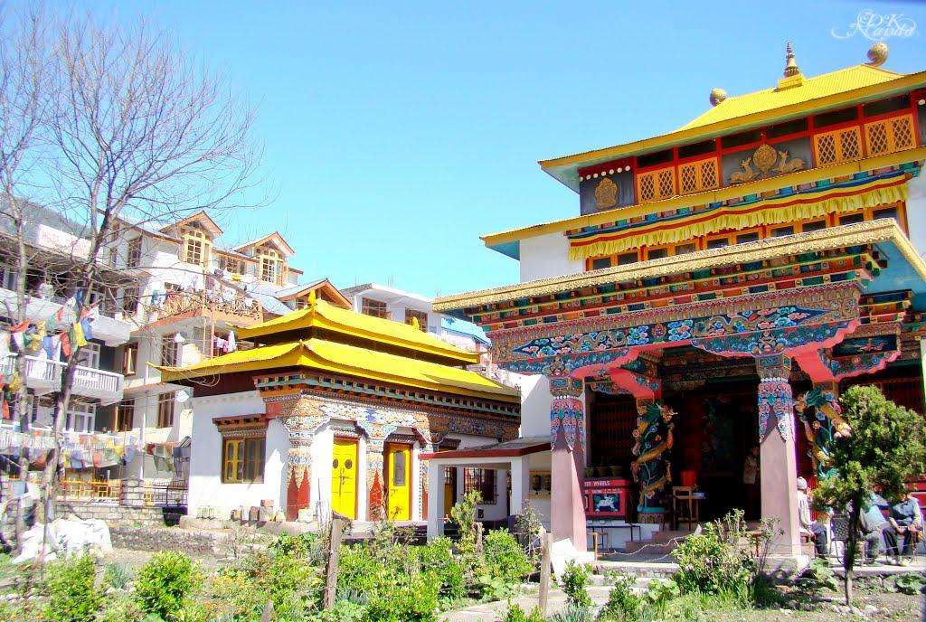 Tibetan Monastery - Manali