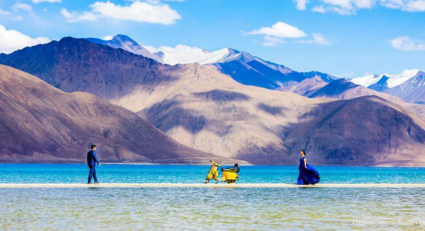 pre wedding photoshoot in Ladakh