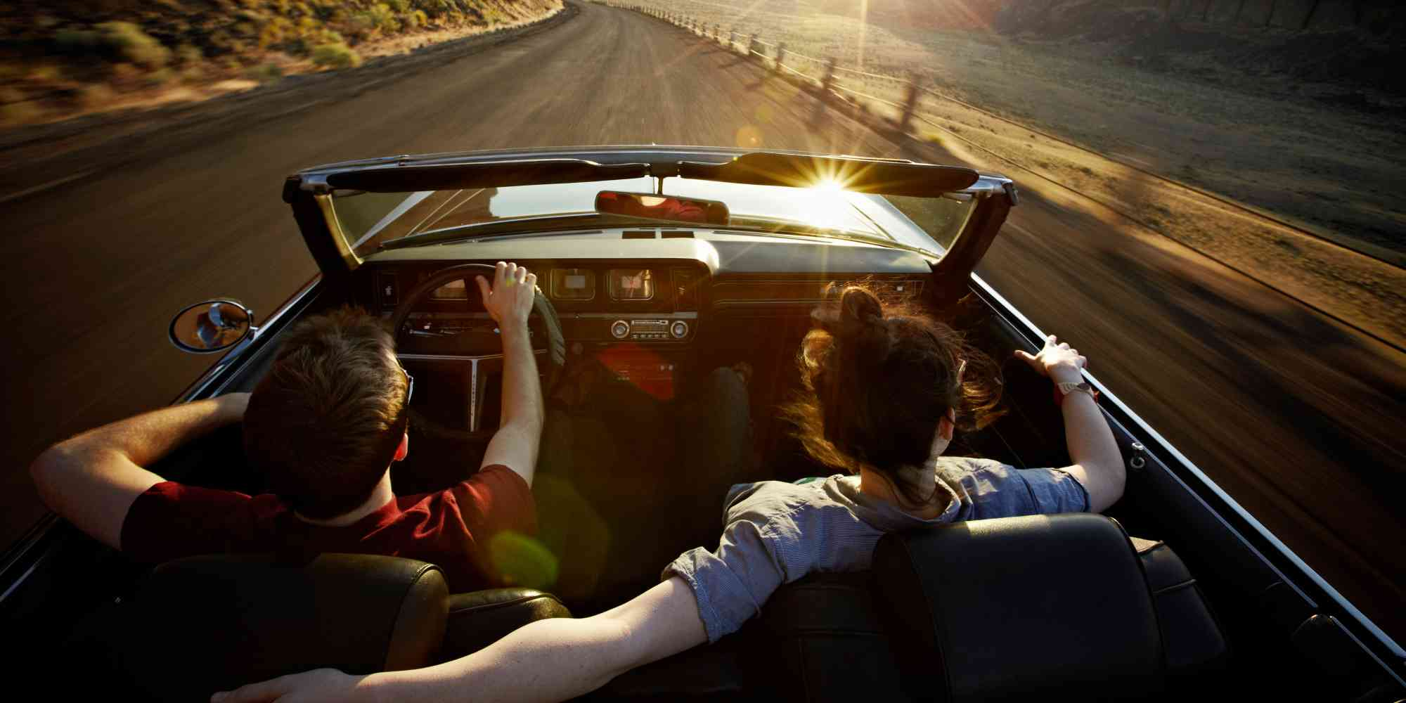 Go On A Romantic Drive in Mauritius