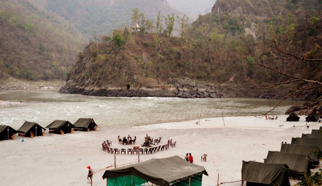 Picnic At Rishikesh - Romantic Idea