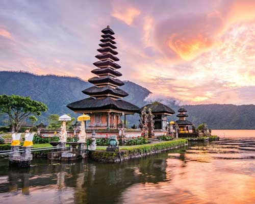 Romance in Bali with