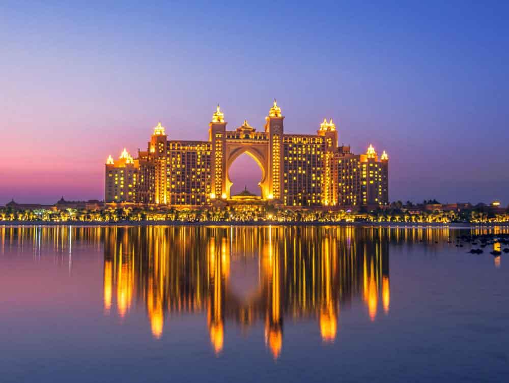 Dubai honeymoon