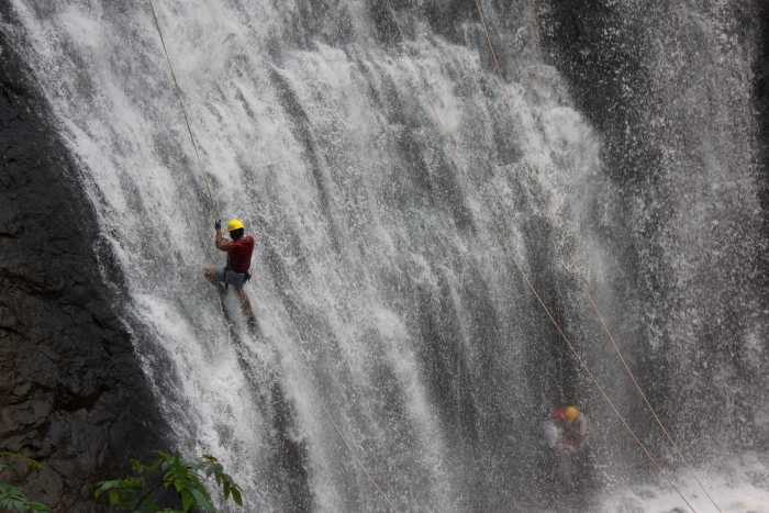 waterfall rappelling, ultralight flying and more at Coorg - Best Tourist Place in South India