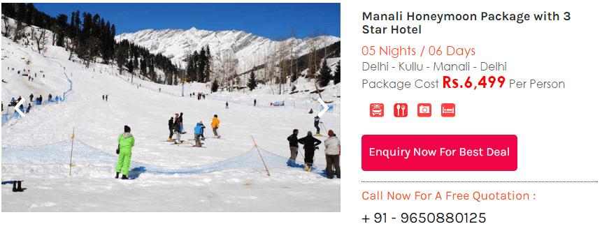 manali package