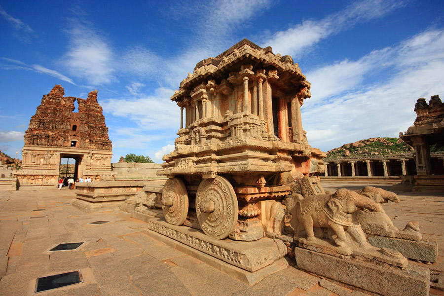 Honeymoon in Hampi