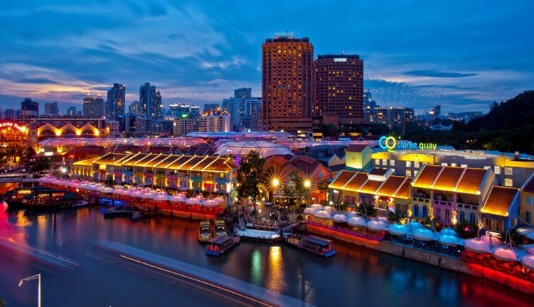 Live the Nightlife of Singapore