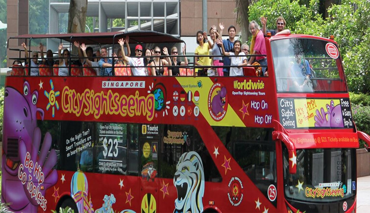 Plan for a perfect Singapore City Bus Tour
