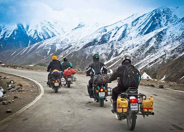 leh bike ride
