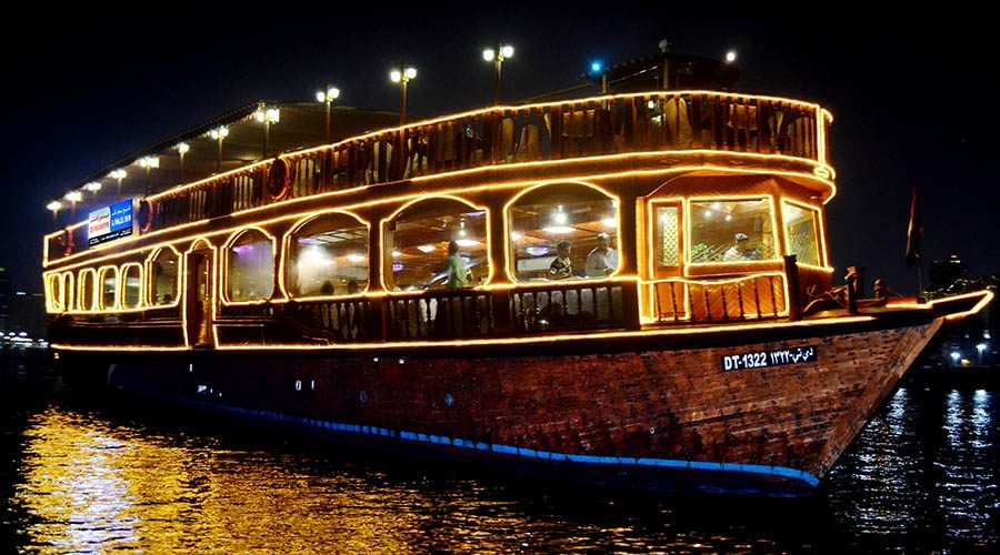 Dubai Creek Cruise or Ride