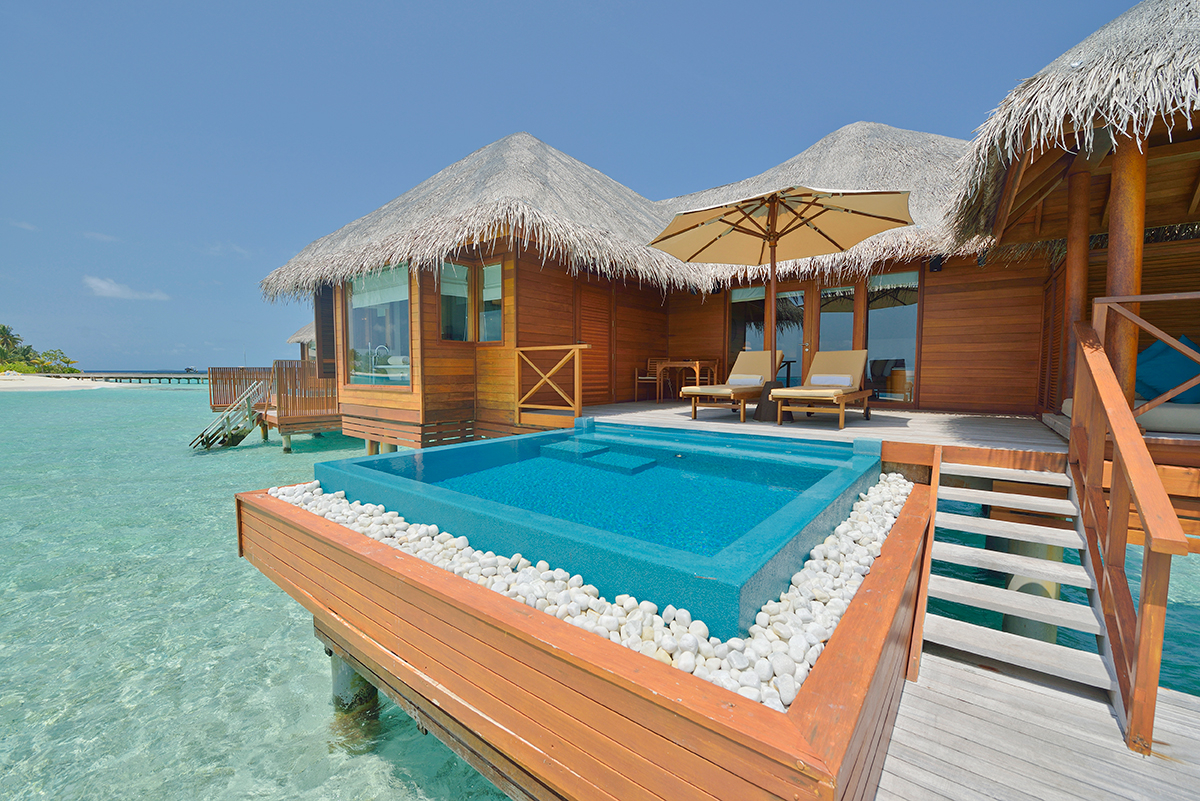 Per Aquum Huvafen Fushi resorts in maldives