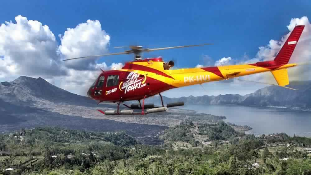Take A Scenic Bali Helicopter Tour