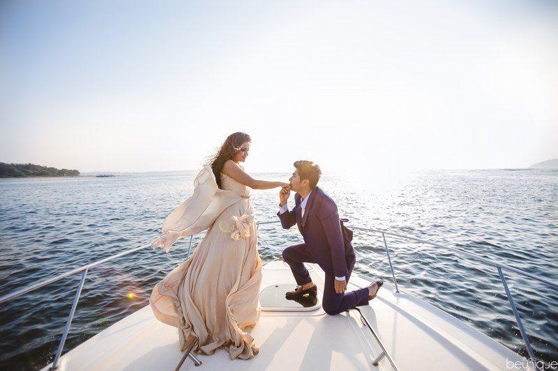pre wedding photoshoot in Goa
