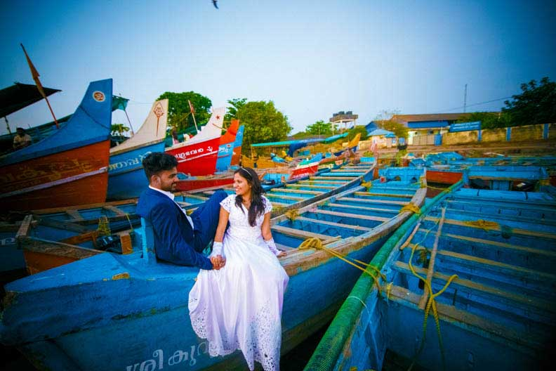 pre wedding photoshoot in Pondicherry