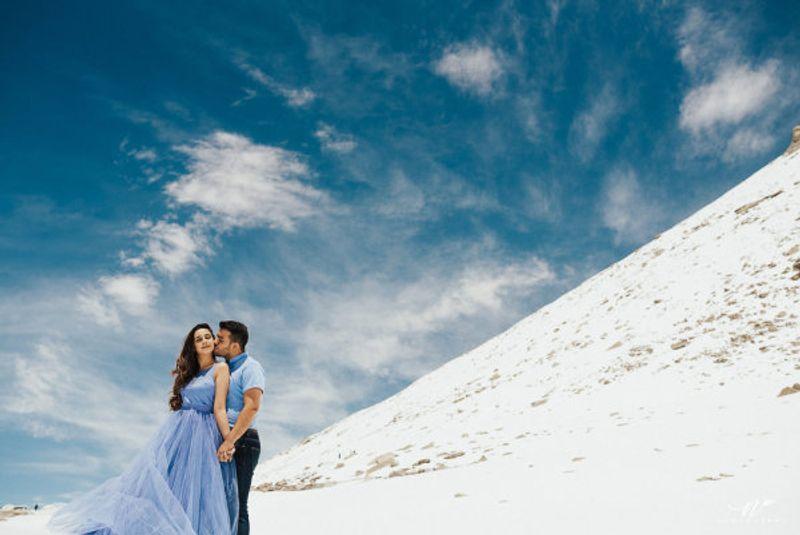pre wedding photoshoot in Spiti, Himachal Pradesh