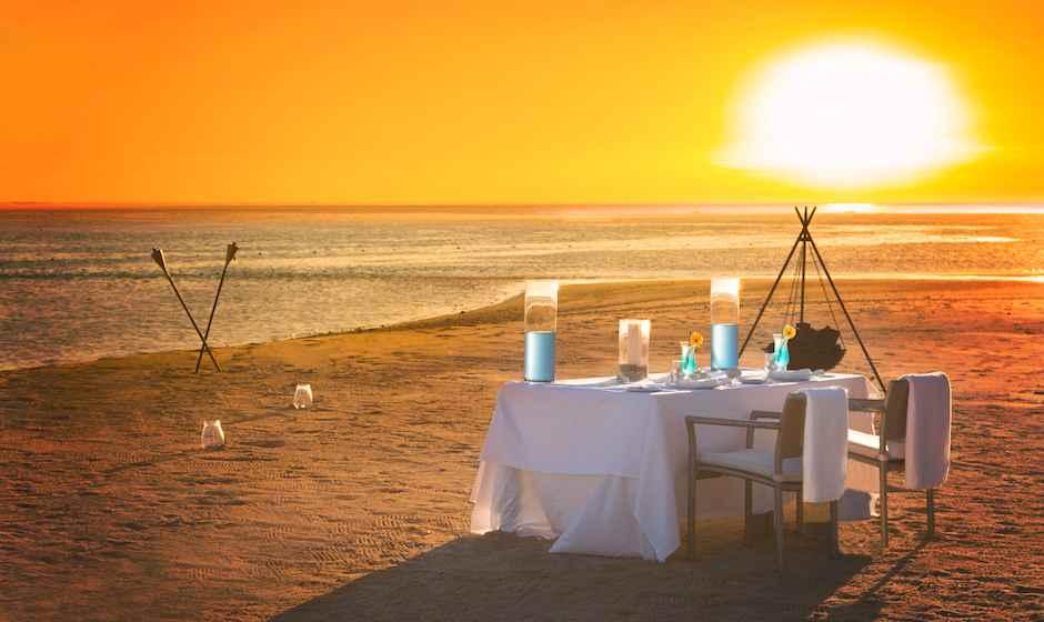 Best Sunset At Riambel Beach - Mauritius