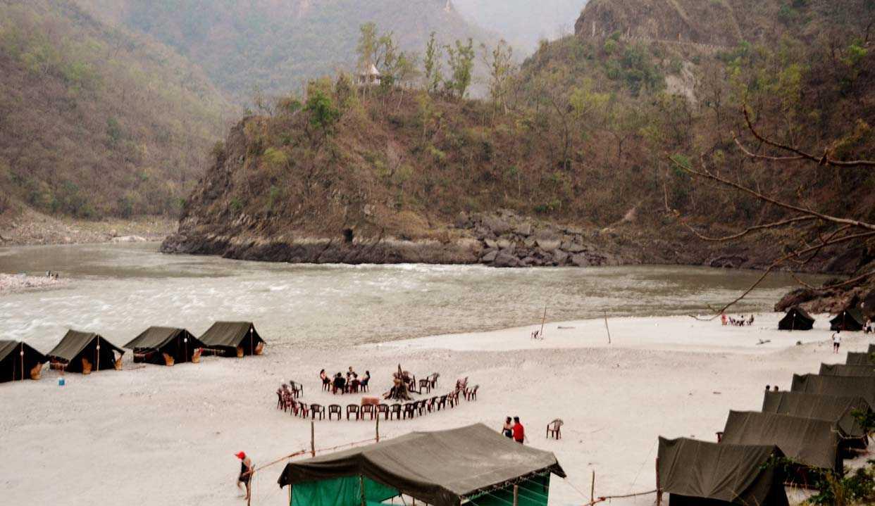 Picnic At Rishikesh - Romantic Idea