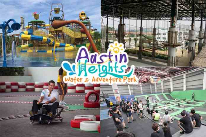 Austin Heights Water & Adventure Park malaysia