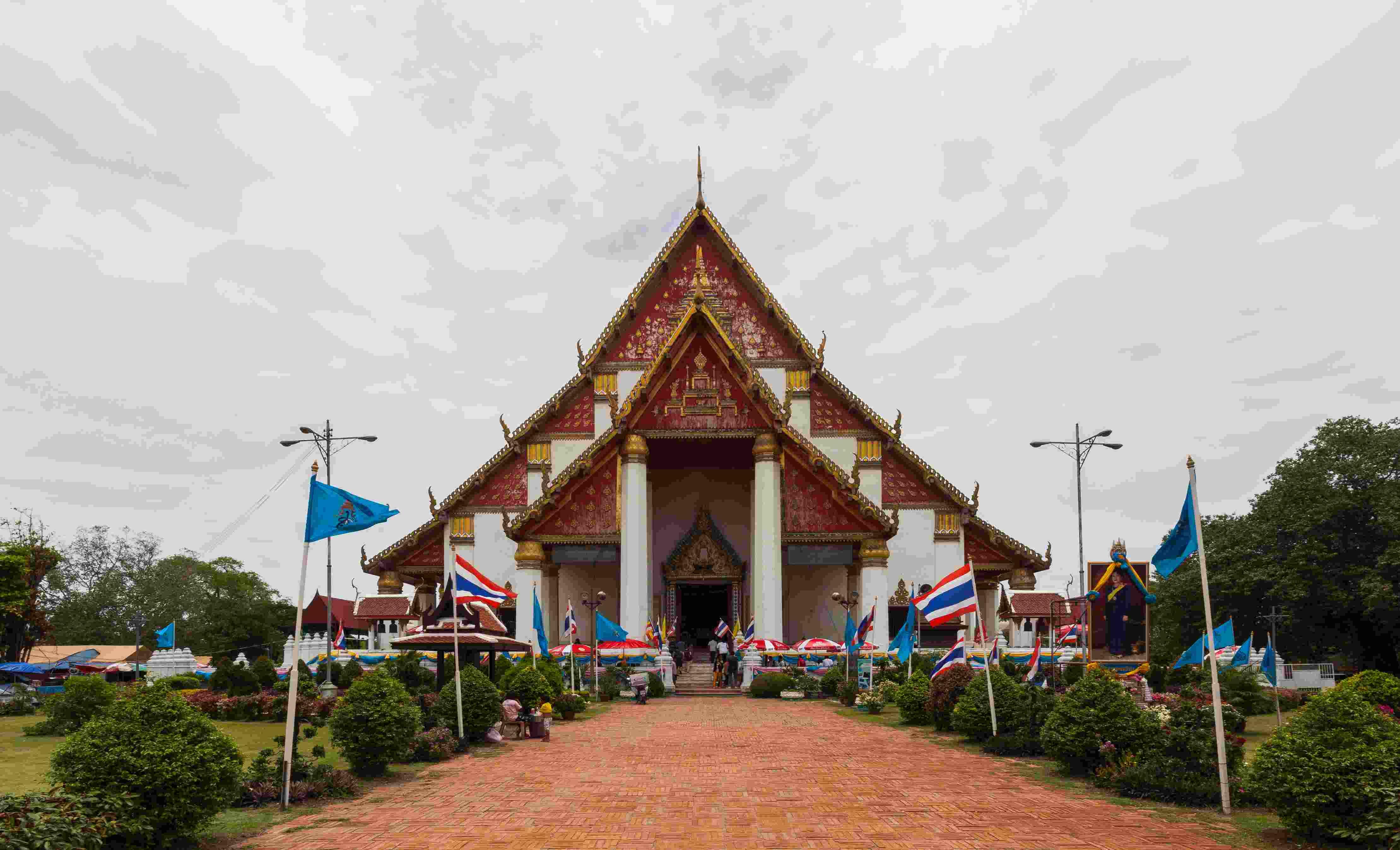 Viharn Phra Mongkhon Bophit thailand