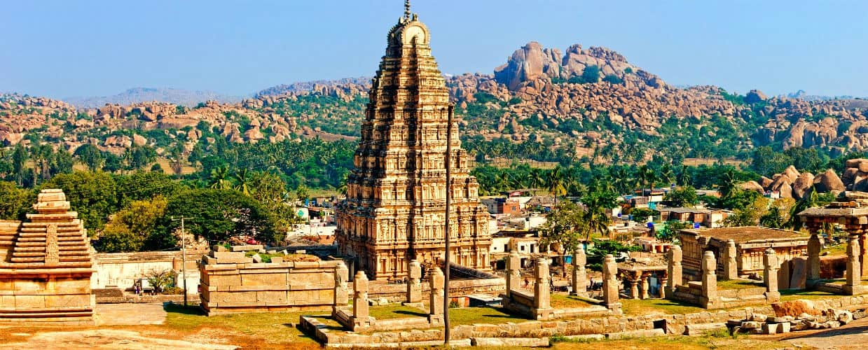 Hampi - best places in India to celebrate Christmas
