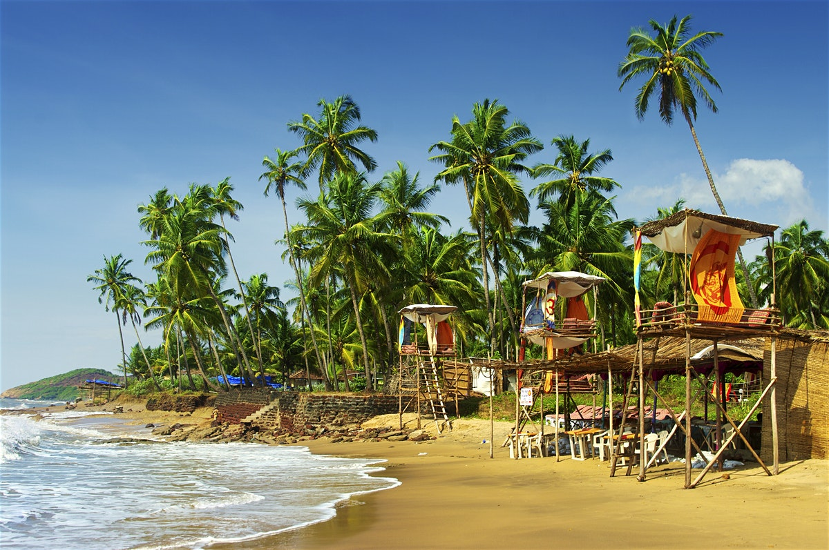 Goa - best honeymoon places in India