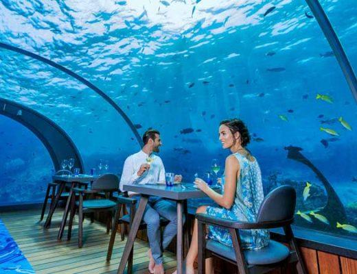 Top 5 Underwater Restaurants in Maldives for your Romantic Trip