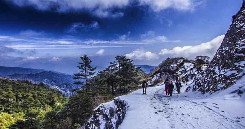 Sandakpu Trek Sikkim