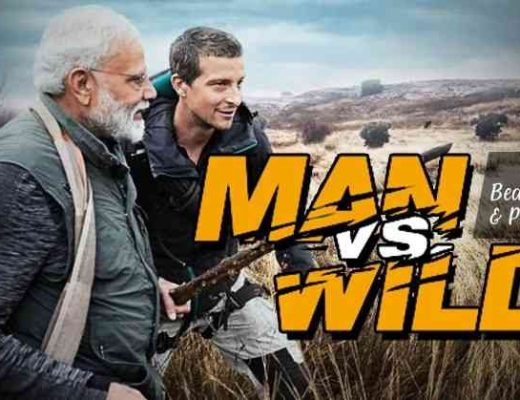 Watch India's Wildlife Shine With Prime Minister Narendra Modi & The Survivalist Bear Grylls