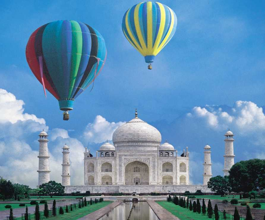 Hot Air Balloon Ride in Agra