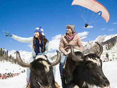Manali Honeymoon Package / 2*Hotels