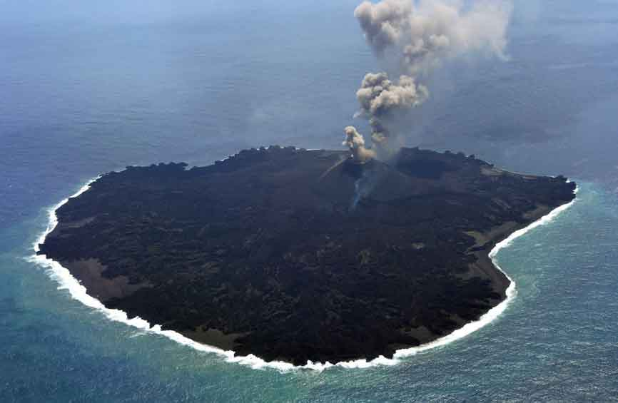 Helicopter Ride of Barren Island