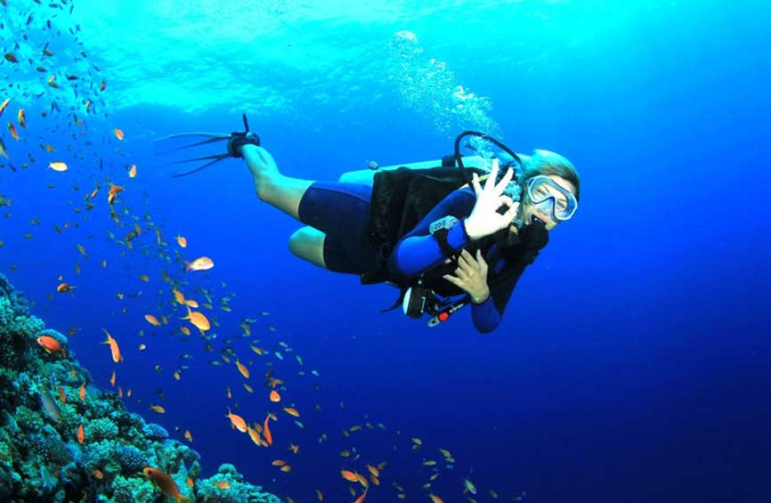 Underwater Diving at Cinque Island
