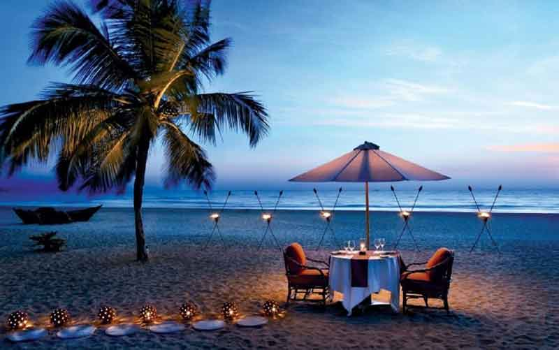 romantic beaches in goa