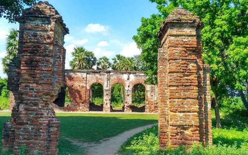 Ariyankuppam Archaeological Site Pondicherry