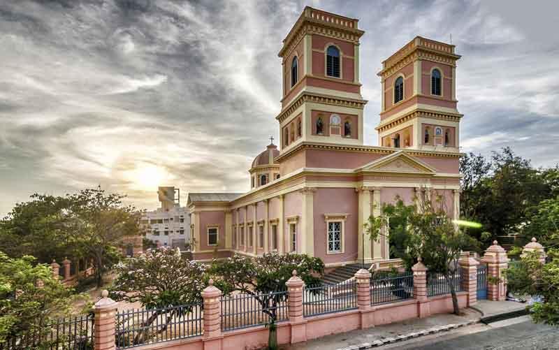 Eglise de Notre Dame des Anges Pondichery