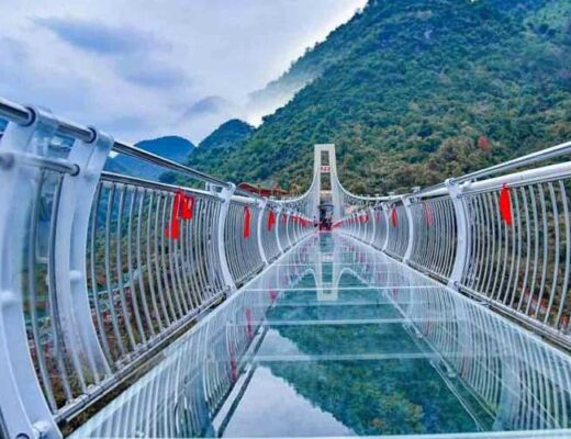 Bihar is all set for the Sky Walk Ready for the Glass Bridge