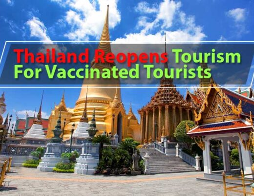 Thailand Reopening Tourism for Vaccinated Tourists
