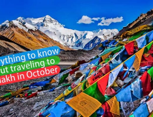 Everything to know about traveling to Ladakh in October-Including What to see and things to do!