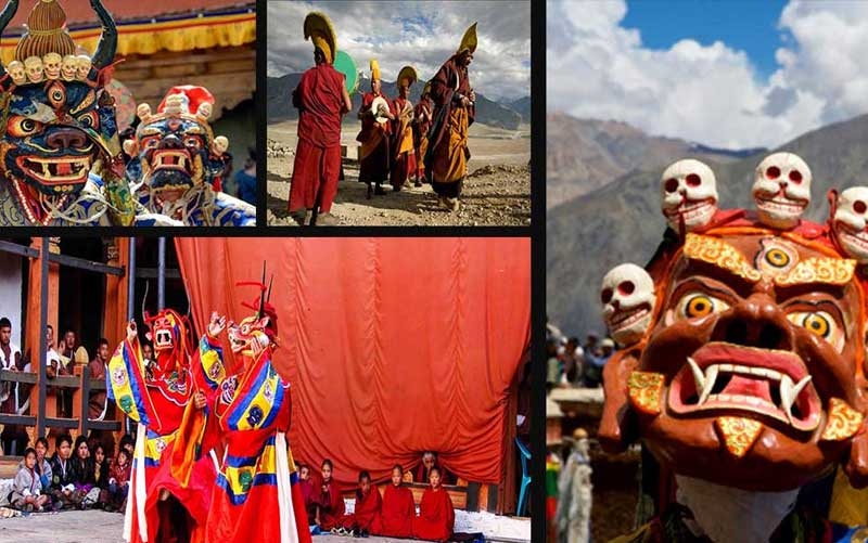 Festivals at Thiksey Monastery