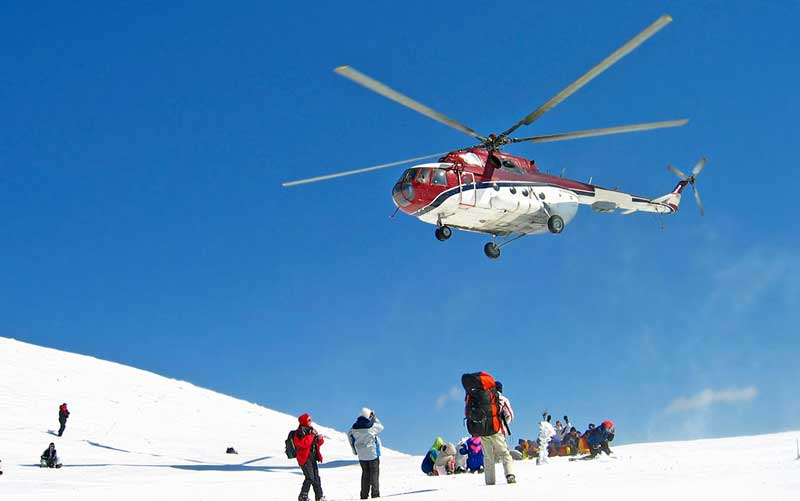 Heli-Skiing manali