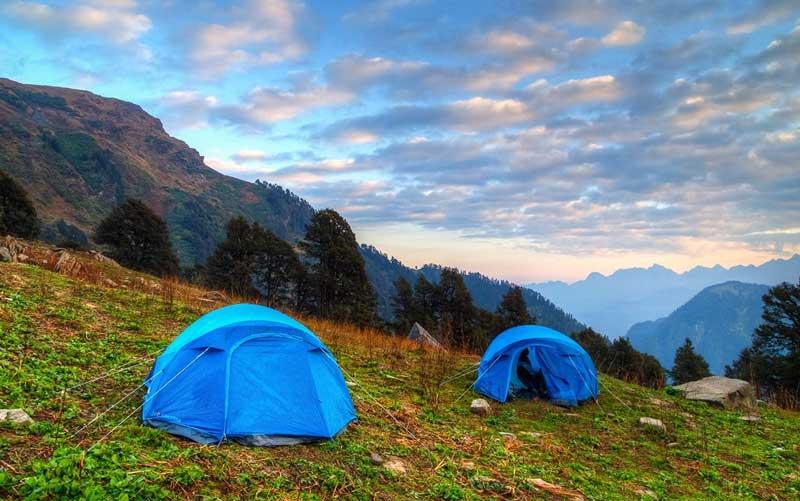 Sahastra Tal camping