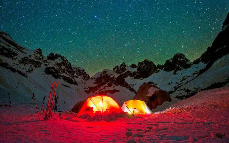 auli camping